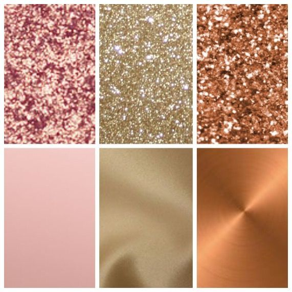 Rose Gold Champagne And Copper Wedding Colors With Images