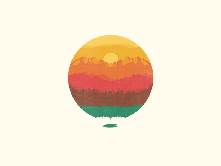 Layers Of Nature by Adil Siddiqui #design #nature #illustration