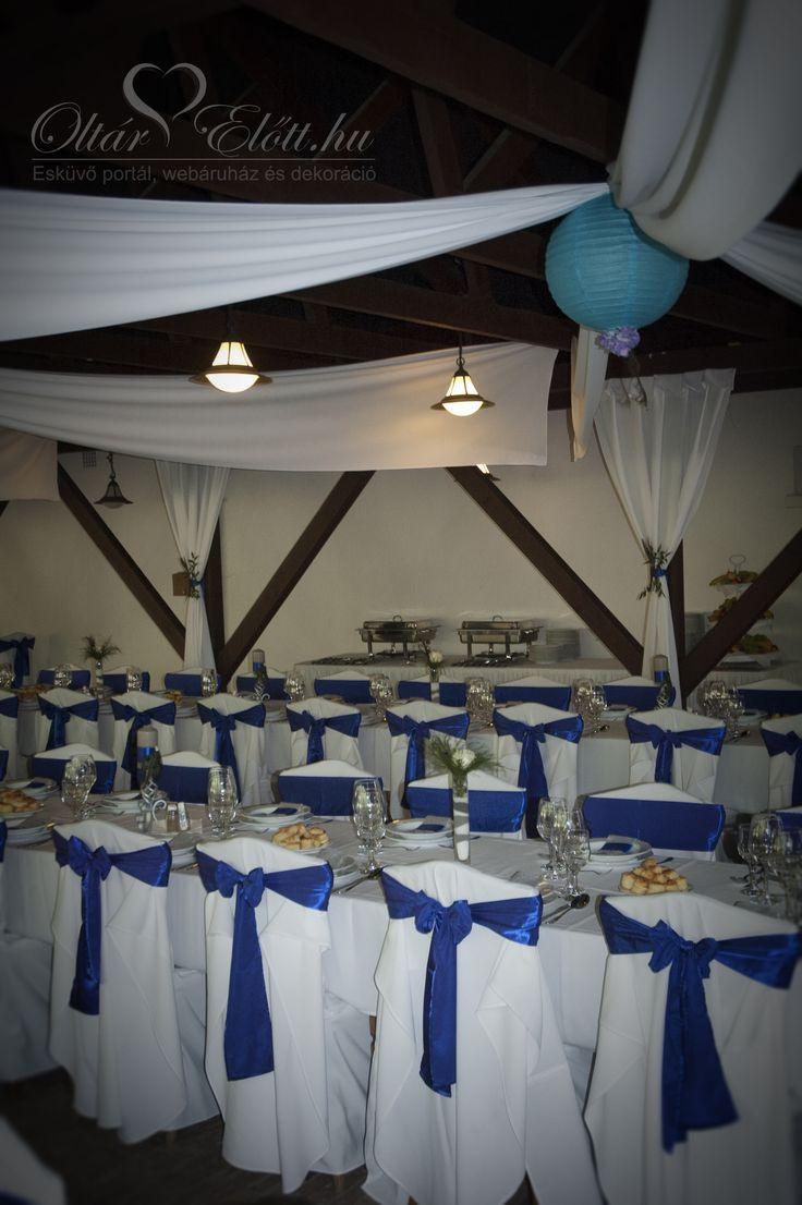 Pávatollas esküvő a százhalombattai Halászcsárdában