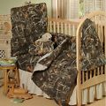 REALTREE MAX 4 CAMO BABY CRIB BEDDING...