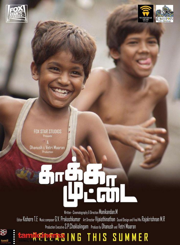 #KaakaMuttai Movie Posters  More Stills http://tamilcinema.com/kaaka-muttai-movie-posters/  #Dhanush