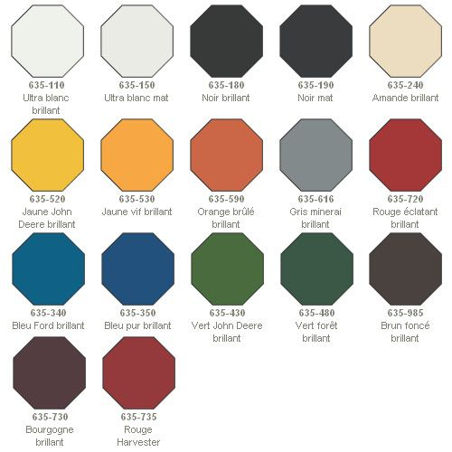 13 best customer project of the week images on pinterest - Peinture couleur rouille ...