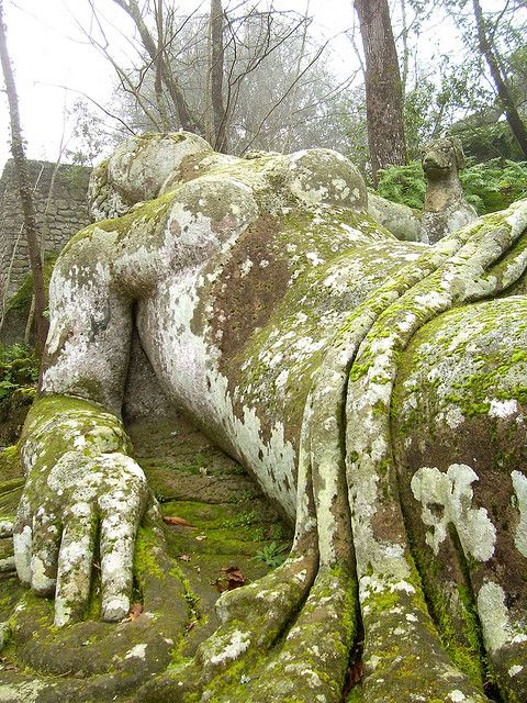 Garden Goddess Bomarzo Monster Park By Cheesemonster, Via Flickr