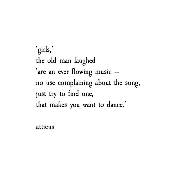 'girls and music' @atticuspoetry #atticuspoetry