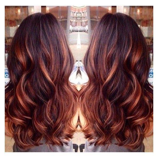 Brown hair color with red lowlights trendy hairstyles in the usa brown hair color with red lowlights urmus Gallery