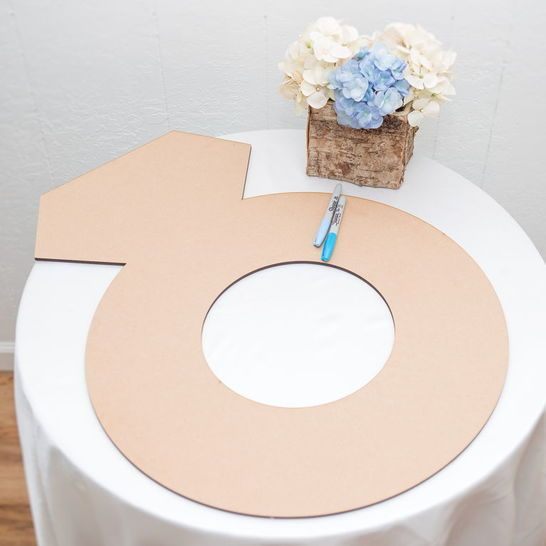 Bridal Shower Engagement Ring Guestbook