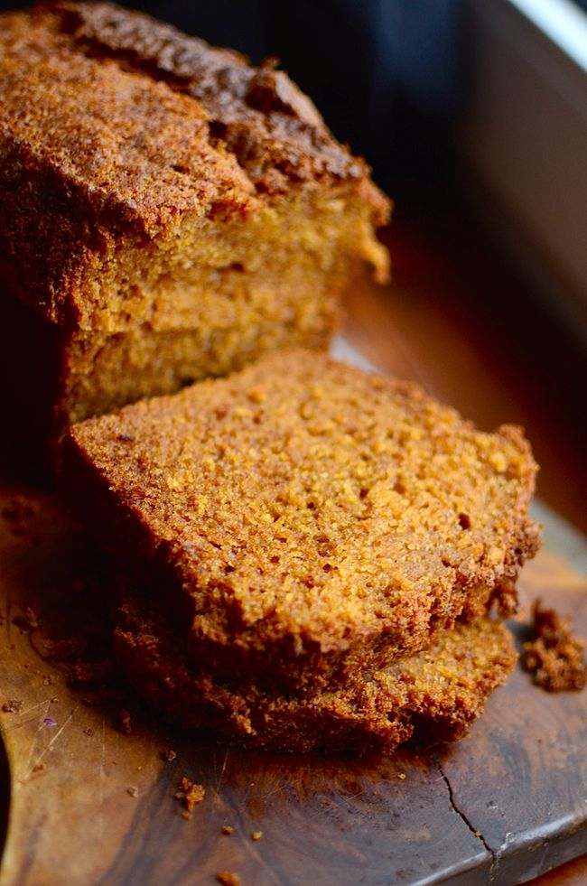 I just made this and Mmmmm...yummy!! Yammie's Noshery: Grandma's Famous Pumpkin Bread