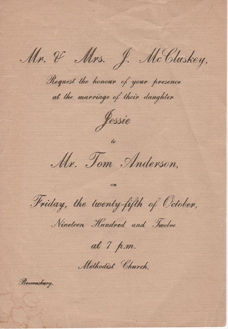 12 best Old Wedding Invitations images on Pinterest Wedding - new letter envelope address format canada