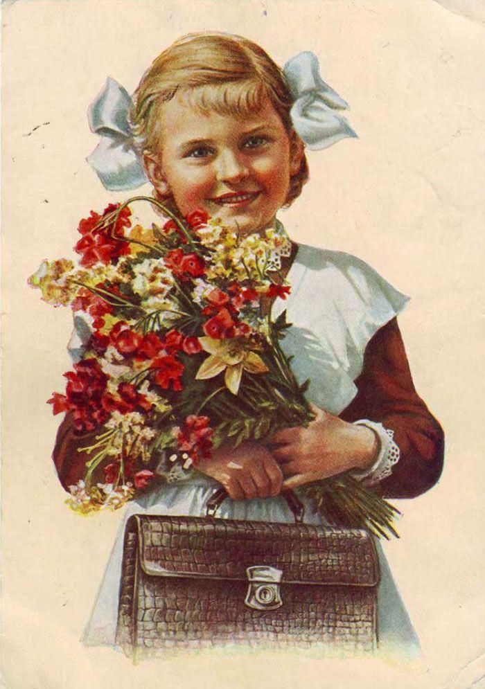 советские открытки ко дню учителя фото видим данных
