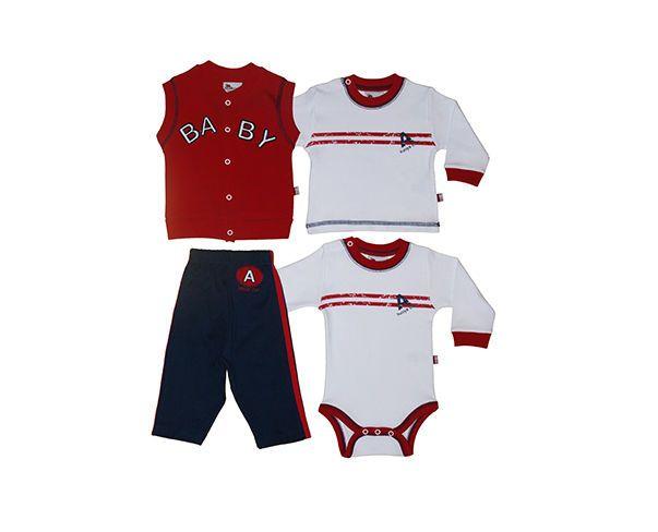 Dětské letní sety oblečení #Abentiny se slevou až 50%