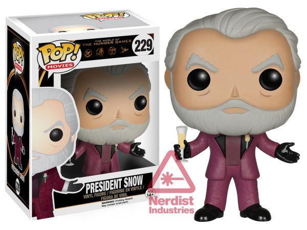 The World of The Hunger Games: President Snow Pop figure by Funko