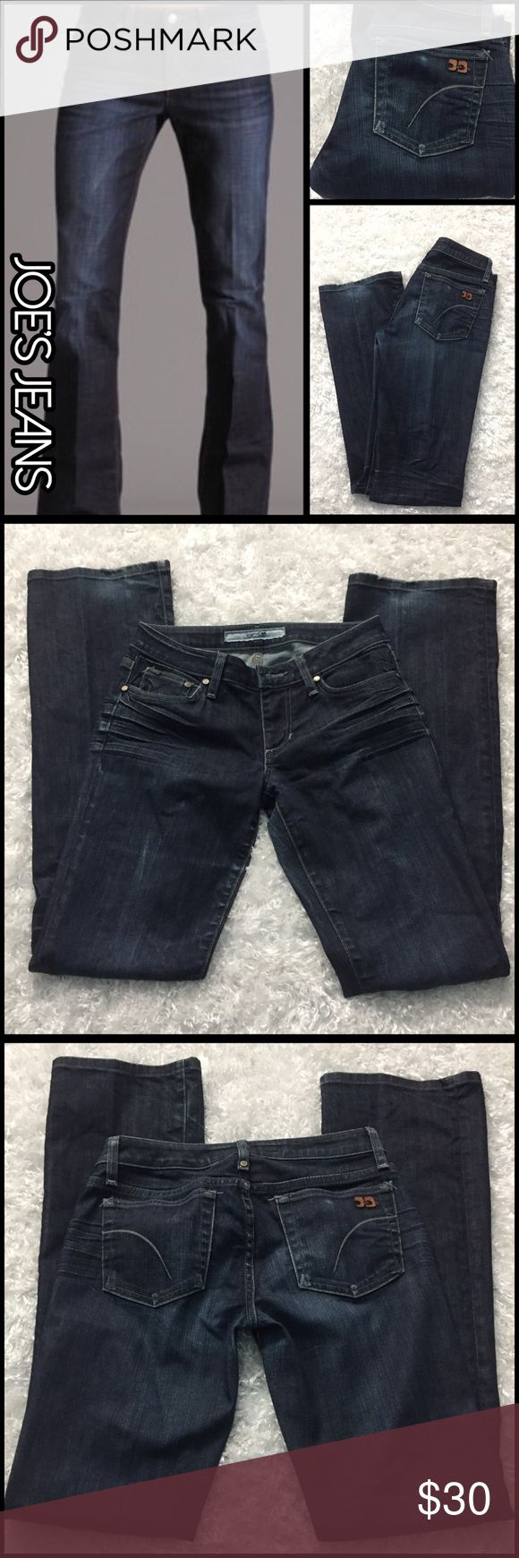 JOE's Jeans Vincent wash boot cut⚡️Flash sale⚡️ JOE's Jeans low rise Vincent wash boot cut. In excellent condition just minor fray and discoloration on heels. Overall these are an awesome pair of jeans!!! Size 27x33.5 Joe's Jeans Jeans Boot Cut
