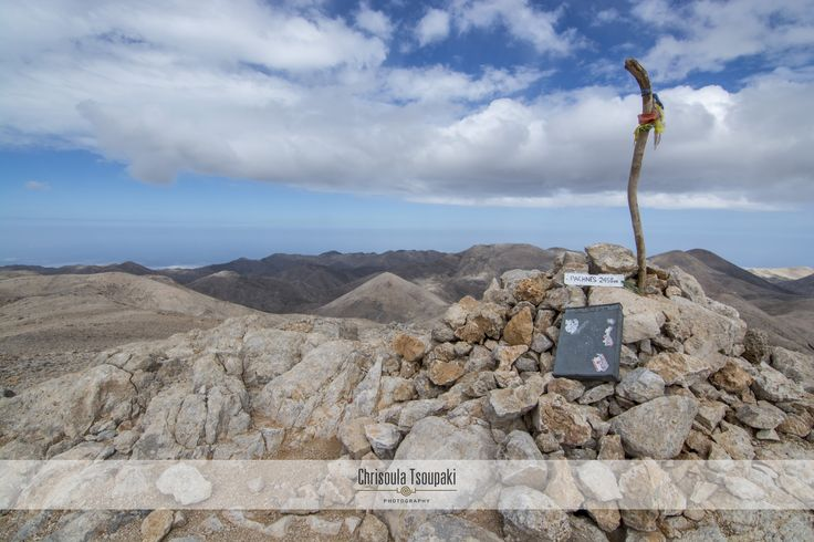 Pachnes 2.456m: The highest peak of the White Mountains! #Sfakia #Chania #Crete #Greece www.livikoapartments.gr