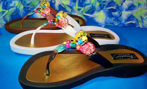 Marble Deluxe Thong | Luv your Sandals