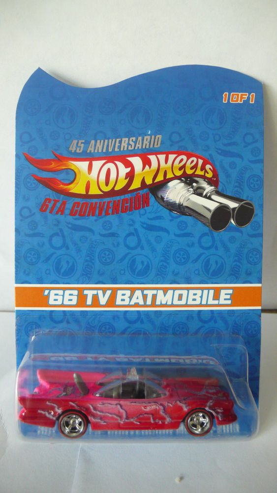 2013 Hot Wheels Mexico 6th Convention '66 TV Batmobile 1 of 1