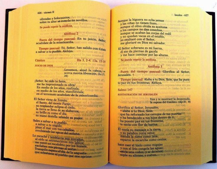 Cómo Rezar la Liturgia de las Horas. Explicación Breve