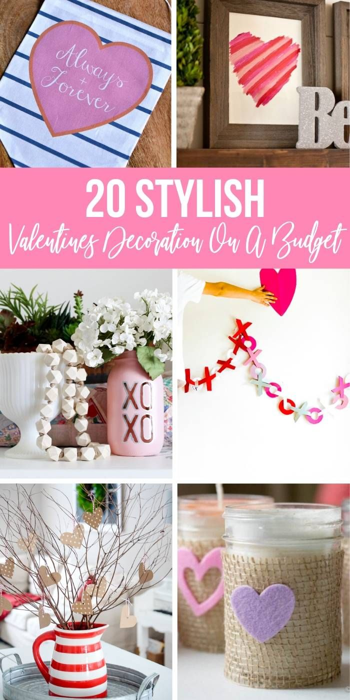 Here Are 20 Stylish And Affordable Valentines Decoration Ideas For Your Home Easy Ways To Ad Valentine Decorations Diy Valentines Crafts Valentines Day Office