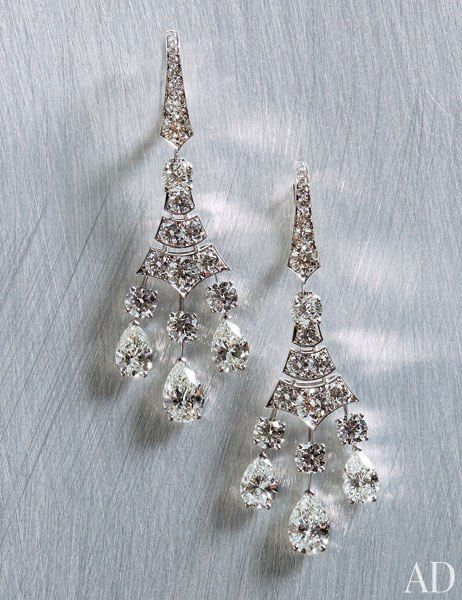 DE BEERS Phenomena Frost diamond earrings by De Beers, price upon request; debeers.com.