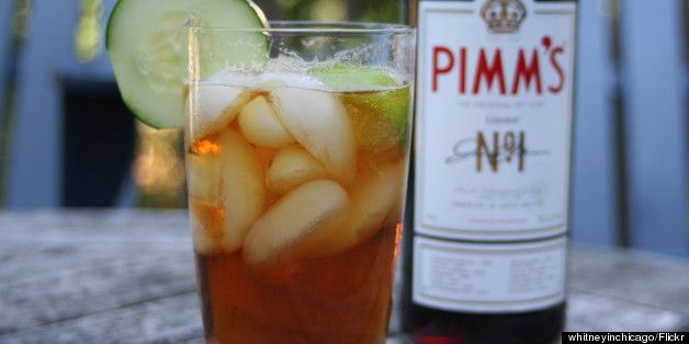 Pimms drinks I'll have to try