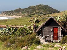 Cabins and dorms at Mtentu Lodge - Wild Coast