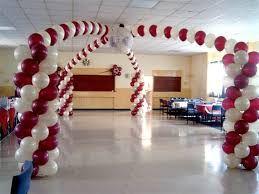 balloon dance floor decoration