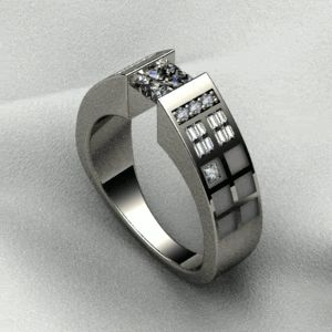 """This TARDIS (Time and Relative Dimension in Space) ring suits quite well I think. You do not have to be a geek to appreciate the beauty of Doctor Who: """"When you're a kid, they tell you it's all... grow up. Get a job. Get married. Get a house. Have a kid, and that's it. But the truth is, the world is so much stranger than that. It's so much darker. And so much madder. And so much better.""""  #JournelleHappilyEverAfter"""