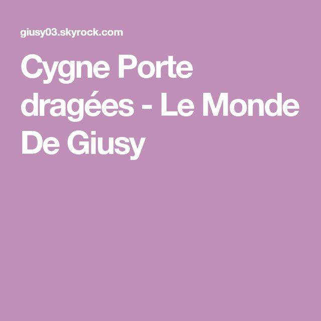 Cygne  Porte dragées -                          Le Monde De Giusy
