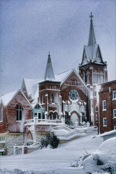 The Swiss United Church in New Glarus, Wisconsin