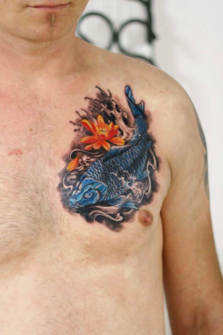 Koy fish tattoo