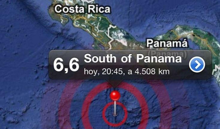 Sismo de magnitud 6,6 se registró en Panamá -   Entrando la noche del sábado se reportó un sismo de 6.6 conepicentro al Sur de la provincia de Los Santos, en el océano Pacífico detalló el Instituto de Geociencias de la Universidad de Panamá. Hasta el momento no hayafectaciones reportadas, escribió en su cuenta de Twitter el director... - https://notiespartano.com/2018/01/28/sismo-magnitud-58-se-registro-panama/
