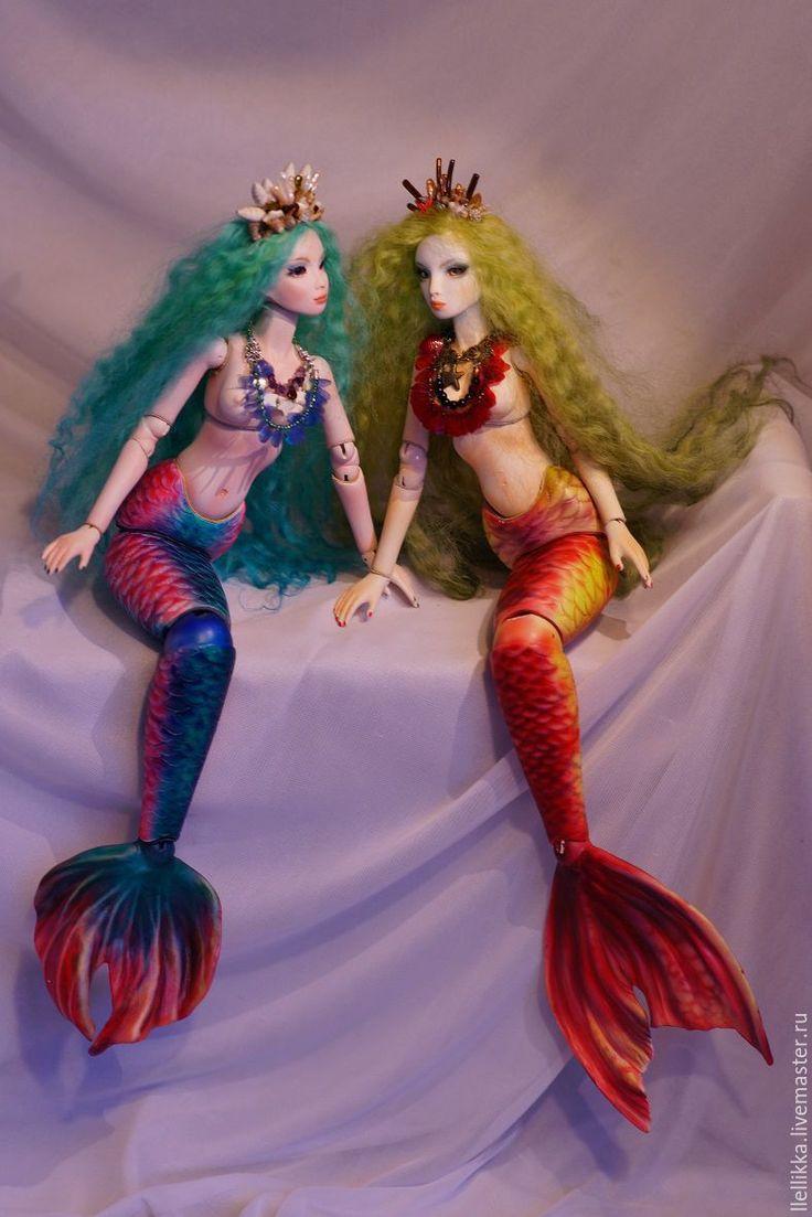 Купить Русалочка под ваш эскиз - mermaid doll, русалки mermaids, русалки куклы фото