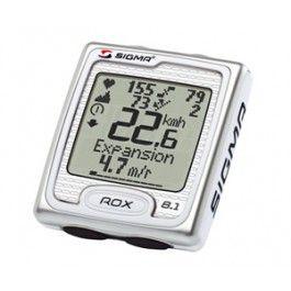 Ciclocomputador / Cuenta Kms Sigma ROX 8.1 envío gratuita | Bicicentral. http://www.bicicentral.com/index.php/accesorios/electronica-ciclismo/electronica/cuenta-kms-sigma-rox-8-1.html