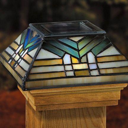 1000 Images About Solar Post Cap Lights On Pinterest