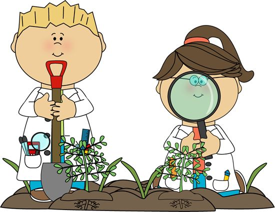 Science Kids Examining Plants - Revamp Digging for God's Word or Exploring Social Studies