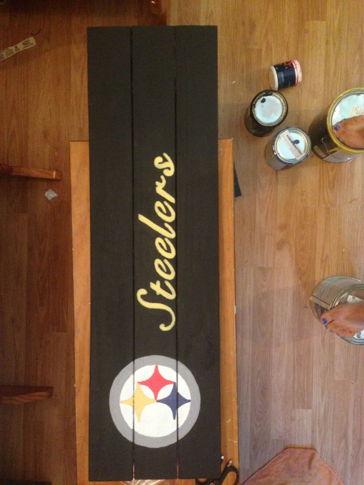 Pin by Jael McLean on pgh | Wood pallet signs, Wood crafts ...