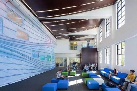 McKinnon Center at Occidental College by Belzberg Architects