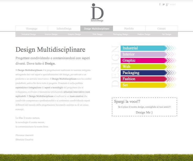 Design Multidisciplinare - Progettare condividendo e contaminandosi con saperi diversi. Dove tutto è Design. - http://www.infinitodesign.it/design-multidisciplinare/