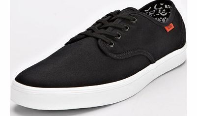 Vans Madero Mens Plimsolls Vans are a Californian-based adventure sport and urban lifestyle brand that provide street-inspired on trend clothing and footwear for a youth generation. Using the sharp black canvas upper to contras http://www.comparestoreprices.co.uk/womens-shoes/vans-madero-mens-plimsolls.asp