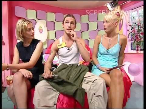 A young Tom Hardy modelling on the Big Breakfast bed with Denise Van Outen. boy has he gotten better with age!!