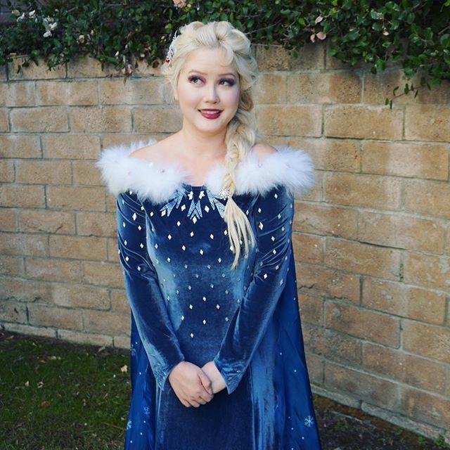 916a113b420 Elsa Olaf's frozen adventure cosplay | Disney <3 | Elsa cosplay ...