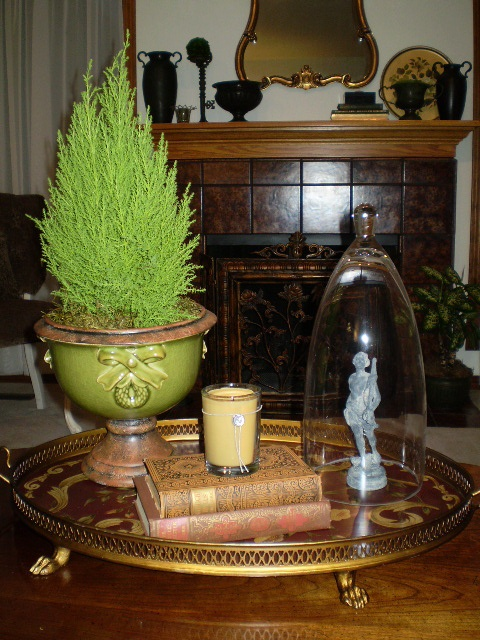 Love the placement of this #Votivo #candle, fits right into the room décor.