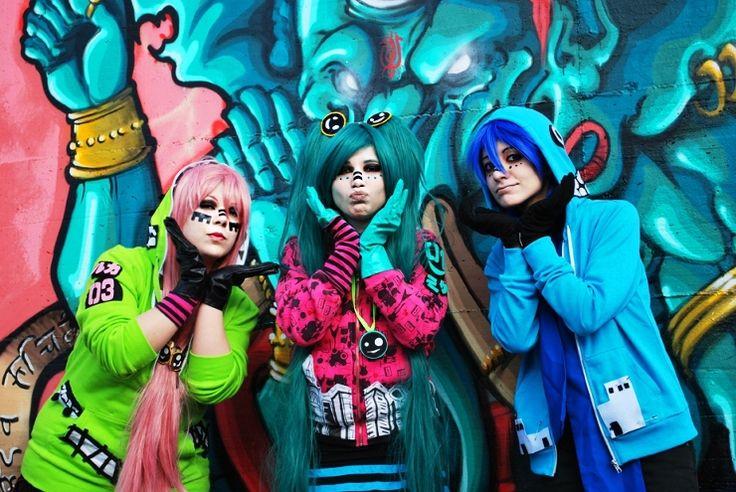 Faenza Comics 1 - 03 - 2012  Photo by Carlo Me as Luka  Alice as Miku Hina as Kaito