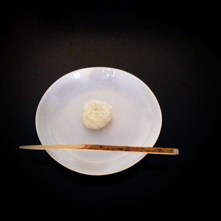 Mochi with edamame-an inside