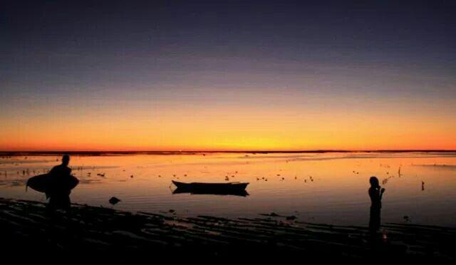 Sunset at Nemberala beach, Rote island, NTT- Indonesia