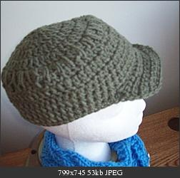 Crochet Baby Hat With Bill Pattern : Click image for larger version Name: bill01.jpg Views: 48 ...