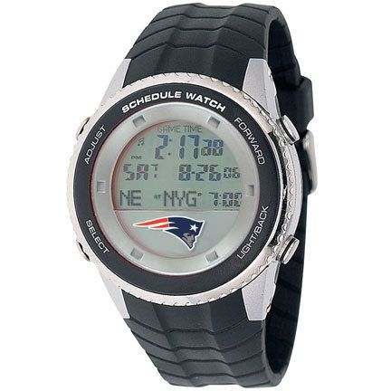 "New England Patriots Schedule Watch from Game Time: ""Enjoy this watch featuring the NFL's New England… #Sport #Football #Rugby #IceHockey"