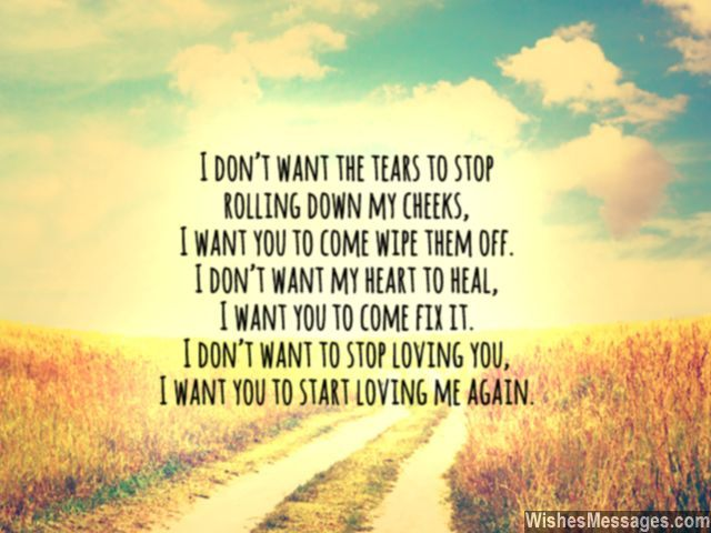 Love quote for ex still missing him cant stop crying