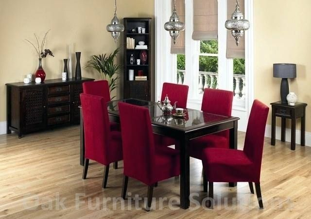 Red Dining Room Table And Chairs Dining Room Colors Black