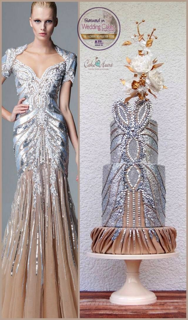 Zuhair Murad Inspired Collaboration - Cake by Cake Heart - CakesDecor