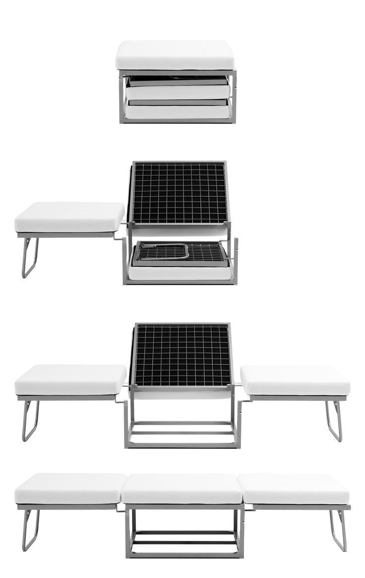 BOUGHT Boconcept foldable bed 70x200cm